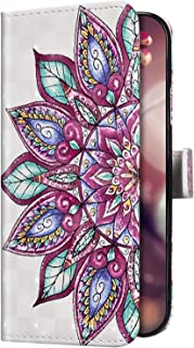 Uposao Compatible con Samsung Galaxy A20/A30 Funda Purpurina Strass Bling Glitter Funda Cuero Piel Wallet Carcasa Billeter...