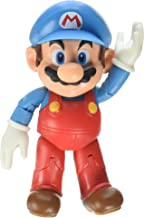 World of Nintendo Ice Mario with Ice Ball Action Figure, 4