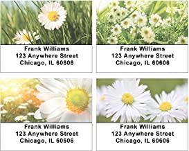 Daisies Address Labels