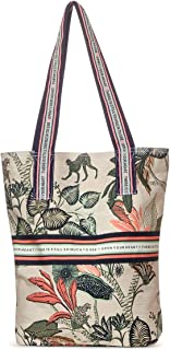 Cecil Printed Canvas Bag