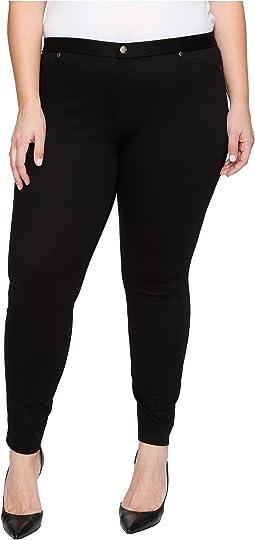 HUE - Plus Size Super Smooth Denim Leggings