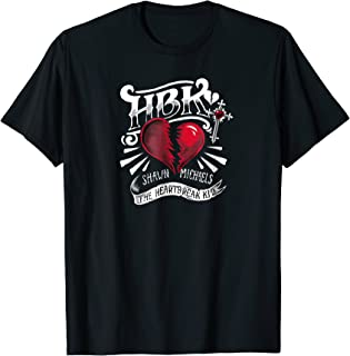 WWE Shawn Michaels HBK Heartbreak Kid Illustration T-shirt