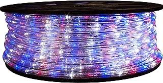 Brilliant Brand Lighting Red White and Blue LED Rope Light - 120 Volt - 148 Feet