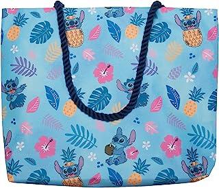 Disney Tote Lilo and Stitch Hawaiian Beach Print Travel Bag