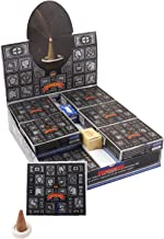 Satya Nag Champa Super Hit Temple Incense Cones Box | 12 Packs of 12 Cones each in a Box | Export Quality