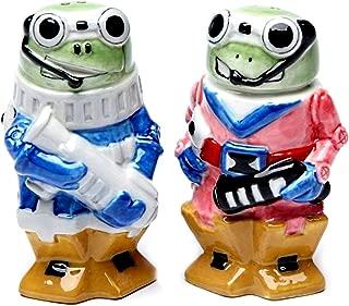 Robot Frog Salt & Pepper Shaker