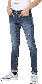 Men's Slim Fit Indigo Blue Stretchable Jeans