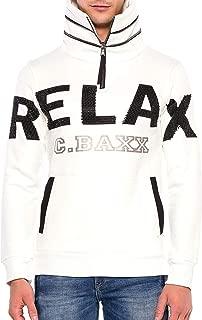 adidas Felpa Uomo Ed7123 Bianca Cotone Ai19 in White for Men