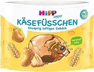 Hipp Kinder Knabberprodukte, K?sefüsschen, 6er Pack (6 x 28 g)