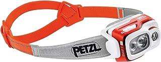 PETZL Swift RL Lámpara De Cabeza, Adultos Unisex, Naranja, Uni