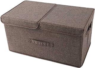 Boite Rangement Vetements Sacs de Rangement Pliables Boîtes Sac De Rangement Vetement sous Lit 50*30*25cm grande capacité ...