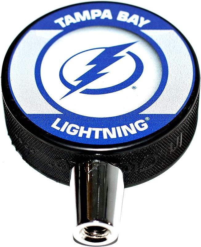 EBINGERS PLACE Tampa Bay Lightning Retro Series Hockey NHL Puck Beer Tap Handle