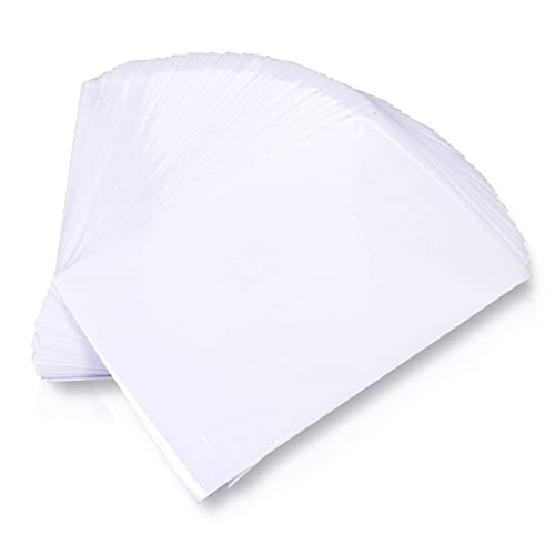 XFasten Self-Adhesive Laminating Sheets, 6 x 9 Inches, Pack of 100, 4.76 mil, Archival Safe and Yellowing Resistant Heavyweight Self Laminating Sheets