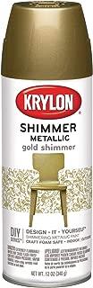 Krylon Shimmer Metallic Spray Paint Gold Shimmer, 11.5-Ounce
