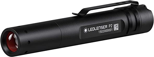 Ledlenser - P2 Professional LED Key-Ring Torch, 25m Beam Range, 7hr runtime, Rapid Focus System