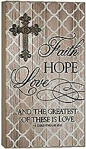 Abbey Gift Abbey Gift Faith Hope Love Wall Plaque