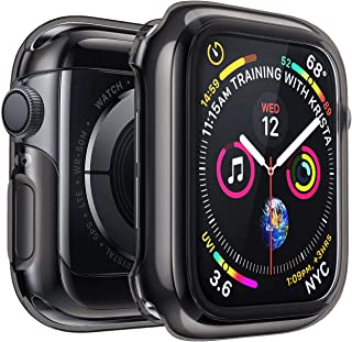 Penom Black Case for Apple Watch Screen Protector Series 3 2 1 42mm, Ultra Thin iWatch 42mm Screen Protector with Full Protection TPU Cover