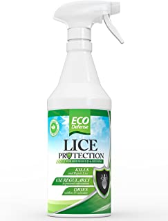 Eco Defense Lice Treatment for Home, Bedding, Belongings, and More – Safe Organic,..