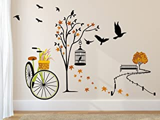 Prodecals Vinyl Nature Ride Wall Stickers 23.62 x 35.43 x 0.39 inches, Multicolour