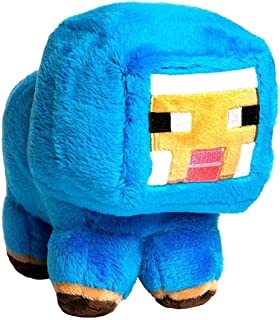 "JINX Minecraft Blue Baby Sheep Plush Stuffed Toy (Blue, 7"" Tall)"