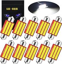 YEORO 6411 6418 LED Bulb Super Bright 36SMD 3014 Chips 39mm CANBUS Festoon 6413 6423 6461 DE3425 DE3423 7065 C5W LED Inter...