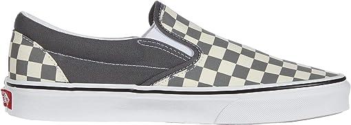 (Checkerboard) Pewter/True White