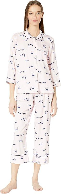 Sateen Long Pajama Set