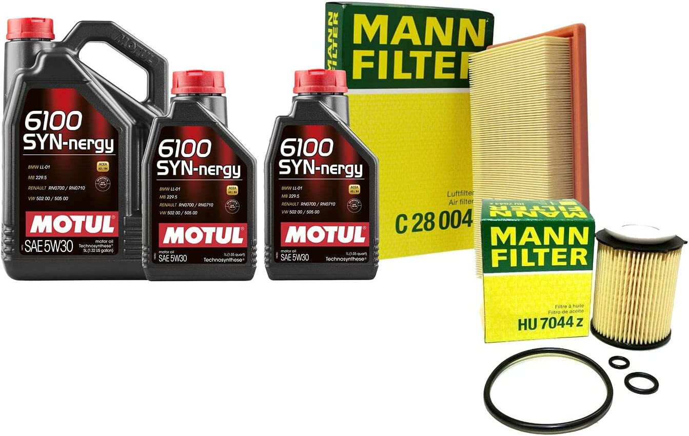 7L 6100 SYN-NERGY 5W-30 Filter Motor Max 55% OFF R172 SLC Max 78% OFF Air Change kit Oil