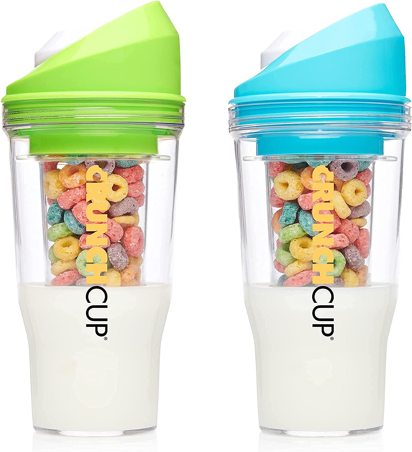 Bundle excellence Save Max 63% OFF 15% on CrunchCups Two Green Blue