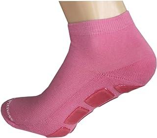 Weri Spezials, Calcetines antideslizantes para yoga y fitness, color rosa