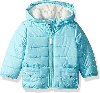 Carter's Baby-Girls Fleece Lined Critter Puffer Jacket Coat Parka