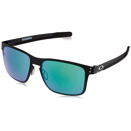 c99e897d51 Oakley Men s Holbrook Metal Non-Polarized Iridium Square Sunglasses MATTE  BLACK 55.0 mm