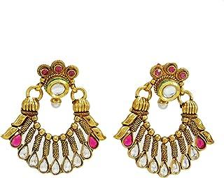MYA 1 Paire Ethnique Indien Boucles doreilles Bijoux Cloches Gland Dangling Drop Boucles doreilles Femmes