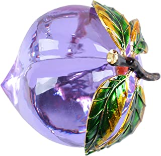 Best crystal peach paperweight Reviews