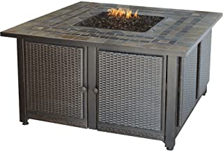 Endless Summer GAD1393SP LP Outdoor Fire Table Gas Fireplace, Brown