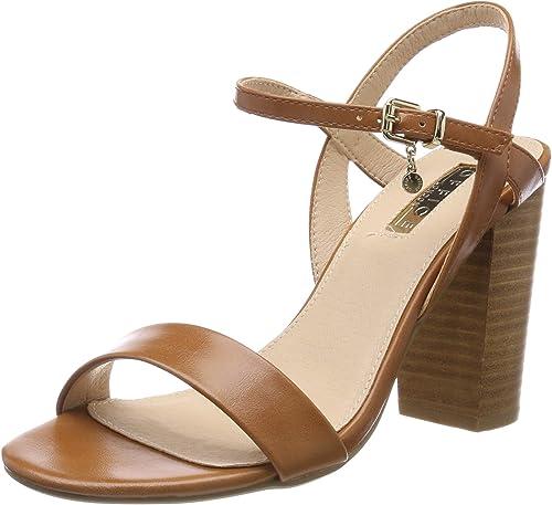 Office Hollyhock, zapatos de tacón con Punta Abierta para mujer