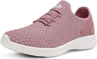Women's Lightweight Walking Tennis Shoes Slip On Sneakers