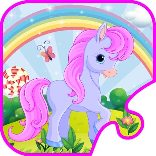 Quebra-cabeças para crianças - Educational puzzle jogo para jardim de infância e pré-escolar crianças, meninas e meninos de todas as idades, princesas, animais, cavalos, dinossauros, fada, jardim zoológico, carros e mais