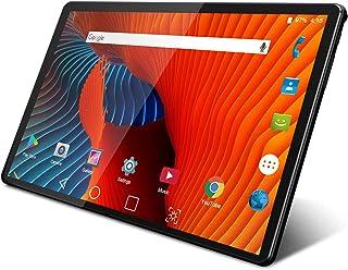 タブレット、10 インチタブレット、3G電話タブレット デュアルSimカード 4コアCPU GPS搭載 Android 9.0 Pie 2GB RAM 32GB ROM 1280*800 HD IPS ディスプレイ TF拡張 日本語説明書(黒)