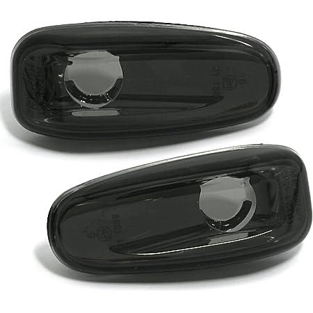 Carparts Online 28573 Led Seitenblinker Klarglas Schwarz Auto