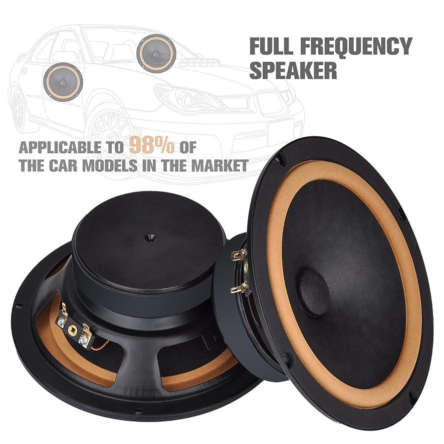 [Hi-Fi]Car Audio Speakers, Handmade 6.5'' Coaxial Speakers, Full Range High Fidelity Woofer for Car Component Stereo