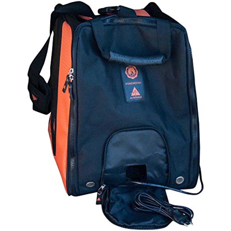 Alpenheat FireBootBag Beheizte Skischuhtasche, schwarz/Orange, One Size