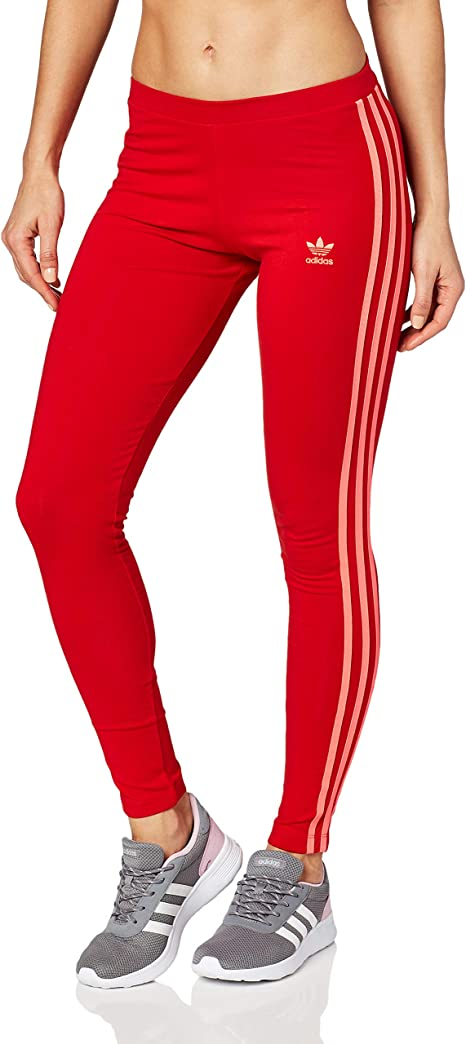 Autorizar Accidental Educación moral  adidas Originals 3-Stripes Leggns Mallas, Mujer, Rojo (Scarlet), 32:  Amazon.es: Deportes y aire libre