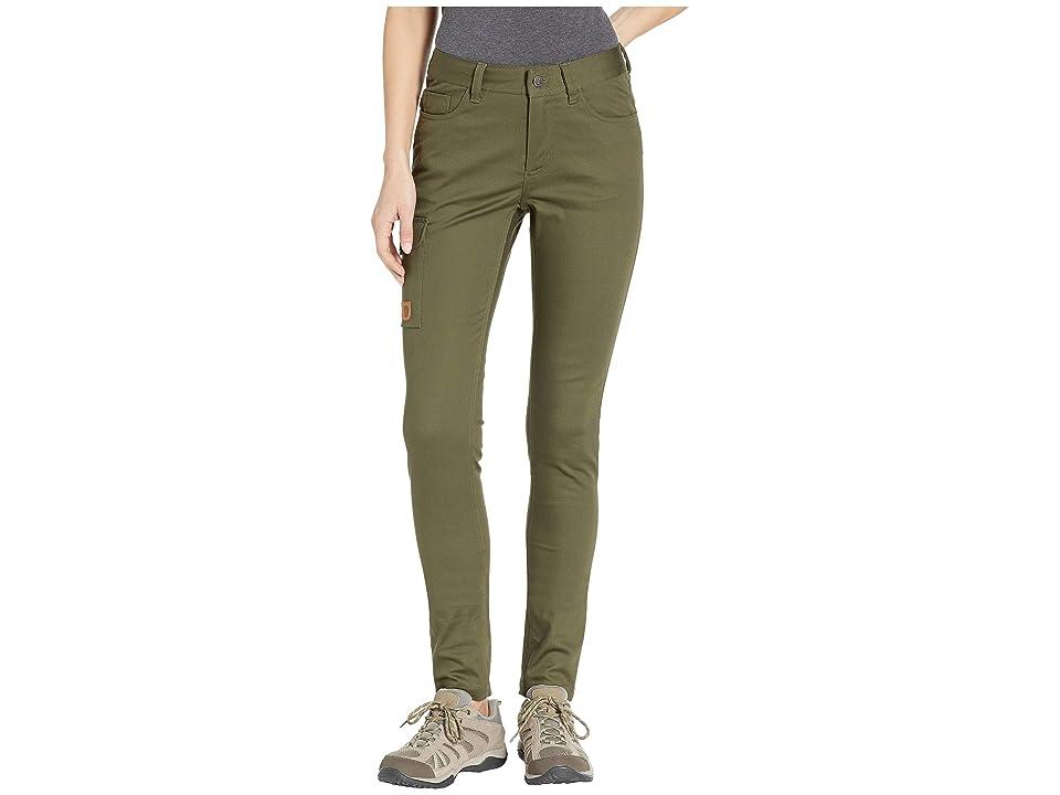 Fjallraven Greenland Stretch Trousers (Laurel Green) Women