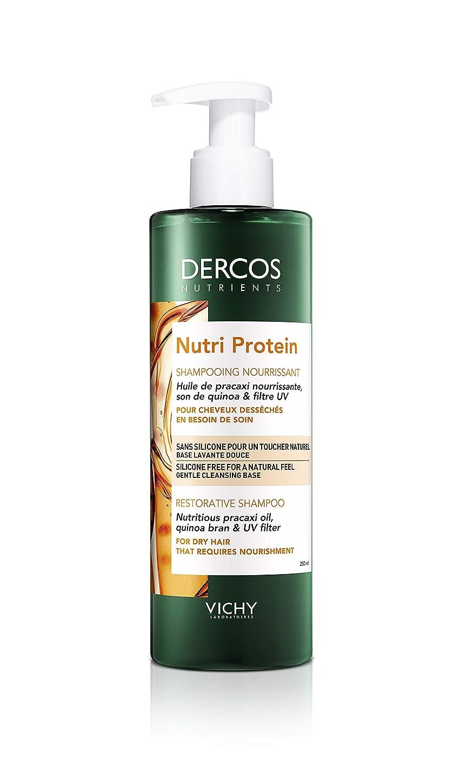 創始者統計欠乏ヴィシー[VICHY] デルコス ニュートリエント ニュートリ プロテイン シャンプー 250ml DERCOS NUTRIENTS NUTRI PROTEIN SHAMPOOING 250ml 海外直送品