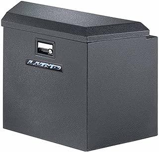 Lund 76220 34-Inch 16-Gauge Steel Trailer Tongue Box, Black