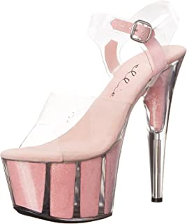 Ellie Shoes Women's 709-Glitter Platform Sandal
