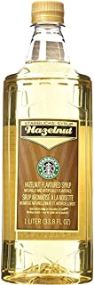 Starbucks Flavored Syrup (Hazelnut, 1 Bottle Pack)