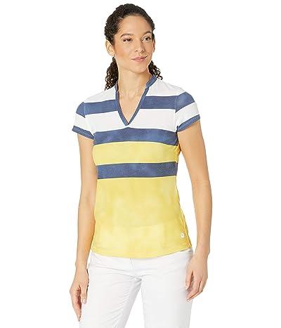 PUMA Golf Dye Stripe Polo
