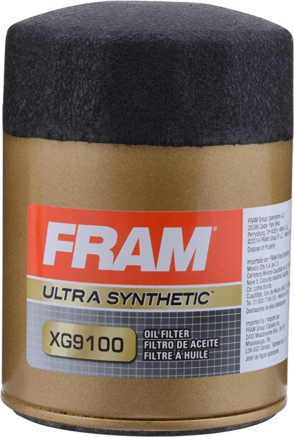FRAM XG9100 Ultra Synthetic Spin-On Oil Filter with SureGrip